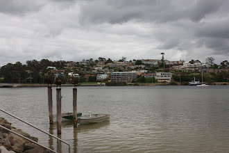 Photo: Year 2 Day 166 -  The Town of Merimbula, Set Out on the Hill