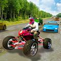 ATV Quad Bike Highway Racing