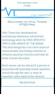 Vital Tones PTSD- screenshot thumbnail