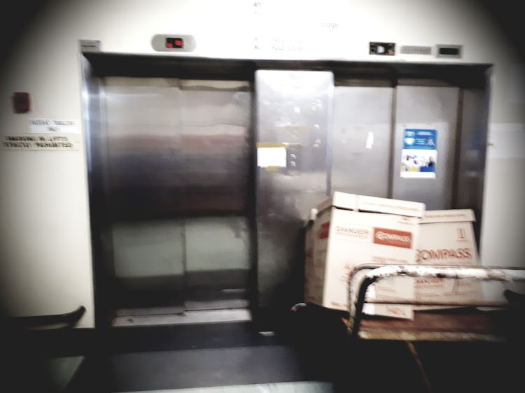 Port Elizabeth Provincial Hospital lift