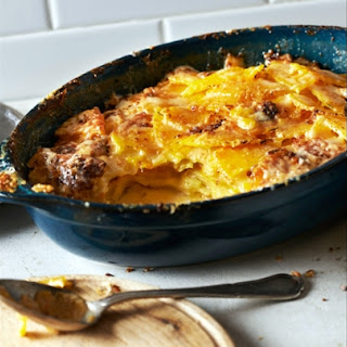 Creamy Pumpkin and Potato Gratin