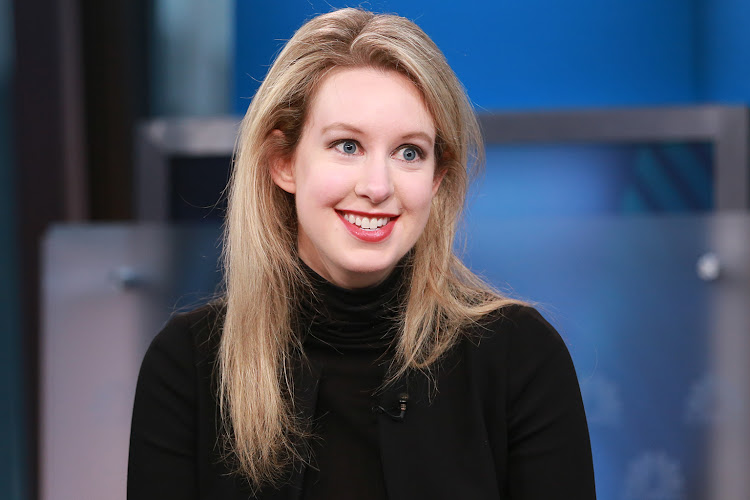Elizabeth Holmes, founder of the now defunct Theranos.