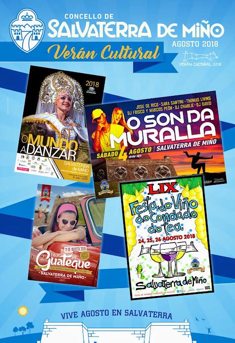 Fiestas Salvaterra de Miño, verán cultural