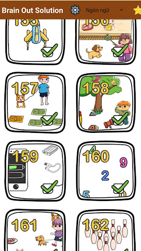 Brain Out Solution apkslow screenshots 4