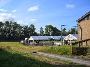 Photo: Keuringsterrein van Geitenfokvereniging Streven Naar Verbetering te Lexmond; 21 juni 2014.