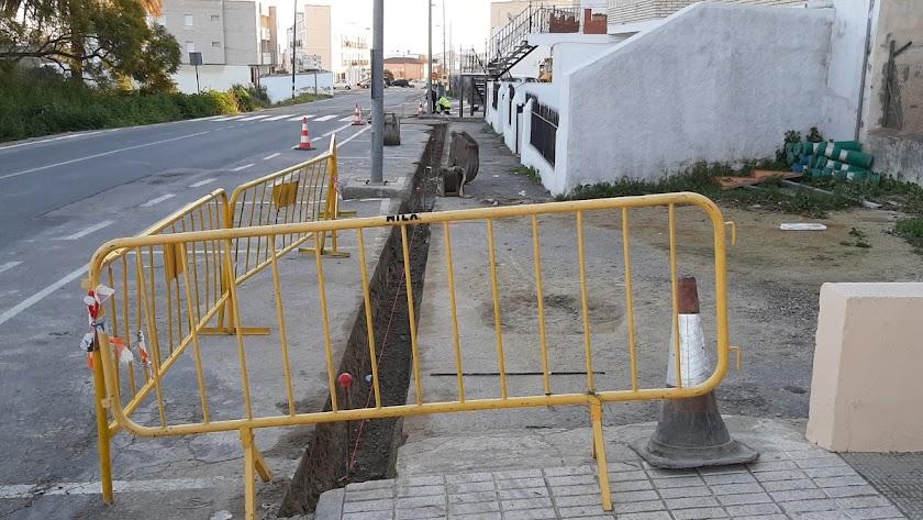 La acera de la avenida principal fue una de las propuestas más votadas en 2016.