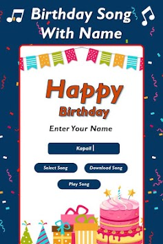 Birthday Song With Name Maker APK Latest Version Download