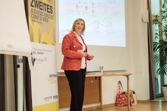 Photo: Keynote von Lynda Girvan