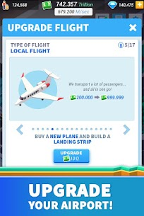 Idle Airport Tycoon – Tourism Empire Mod Apk Download For Android and Iphone 4
