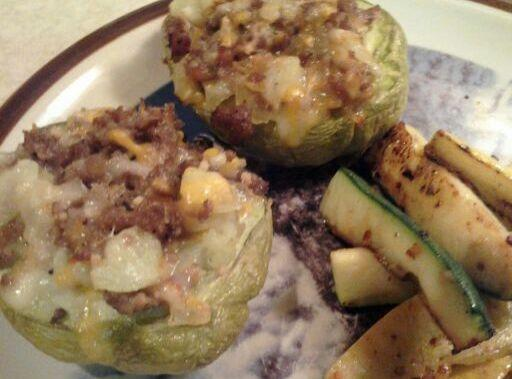 Chayote Squash Dinner For Two Recipe