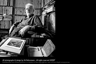 Photo: LUCIEN CLERGUE in Arles, France, 2001. © photo by jean-marie babonneau all rights reserved www.betterworldinc.org