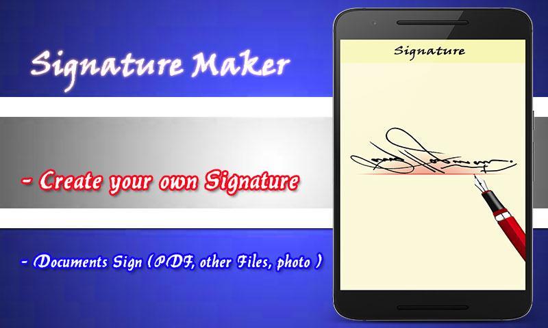 fancy signature maker