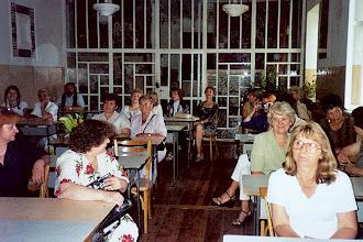 Photo: 2003 r. - 30-lecie matury, klasa tkacka