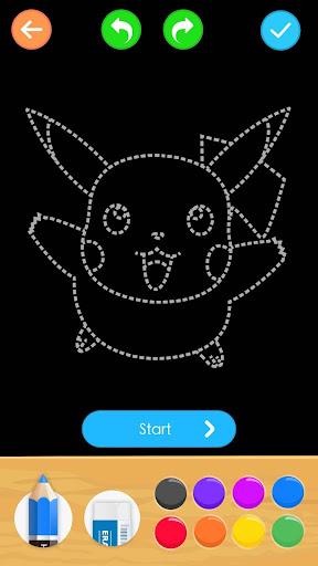Draw Glow Cartoon - How to draw 1.0.9 screenshots 1