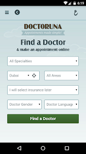 DoctorUna - Book a Doctor Now! screenshot 1