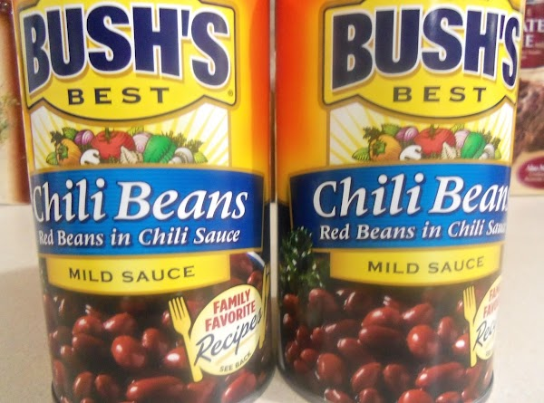 Add the chili beans.