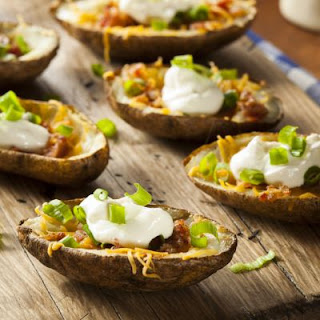 TGI Friday's-Inspired Potato Skins