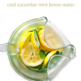 Cool Cucumber Mint Lemon Water