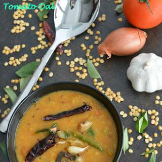 Tomato Pappu or Tomato Dal
