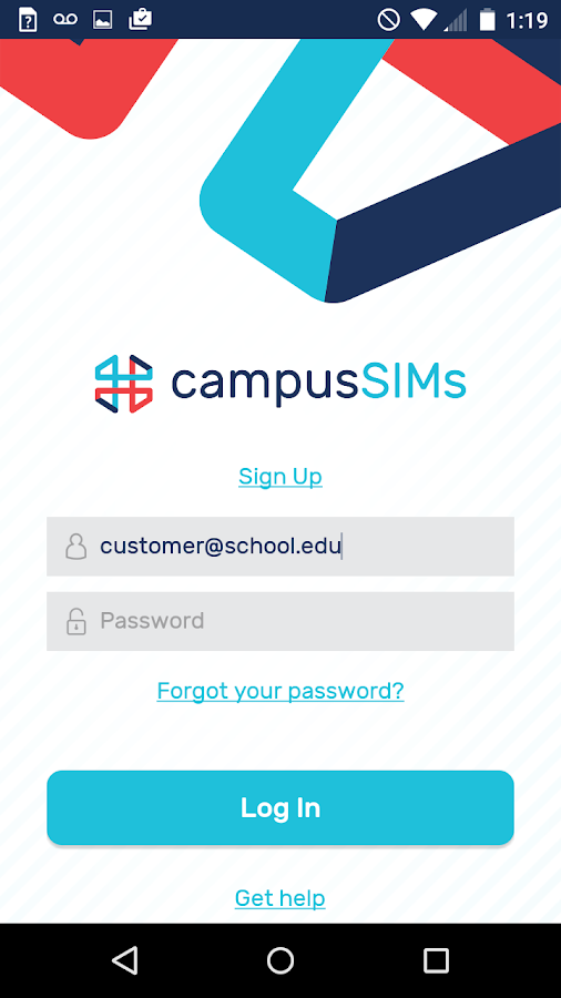 campusSIMs - Student SIM Cards- screenshot