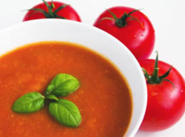 Easy Tomato And Chickpea Soup Recipe