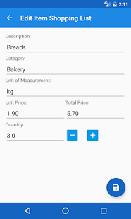 Mercador - Shopping List - náhled