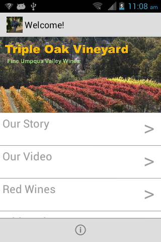 Triple Oak Vineyard- screenshot