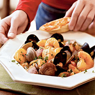 Classic Bouillabaisse with Rouille-Topped Croutons
