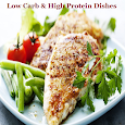 Low Carb & High Protein Dishes icon