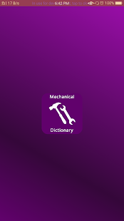 Mechanical Dictionary - náhled