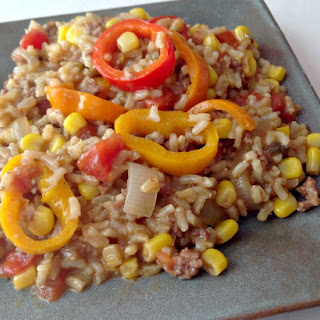 Beef and Rice Fiesta