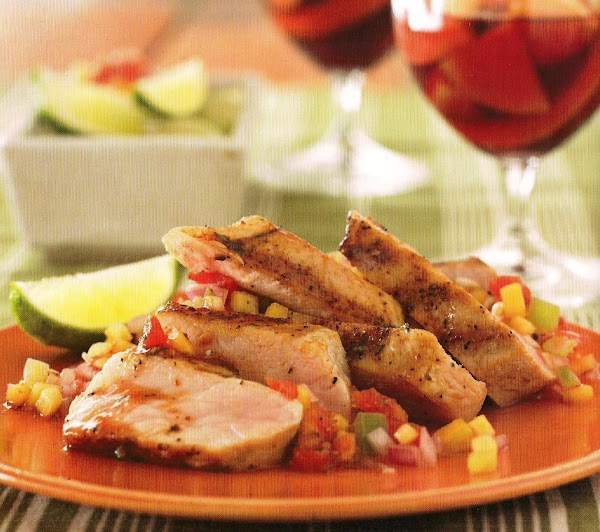Pork Chops With Peach Salsa Recipe