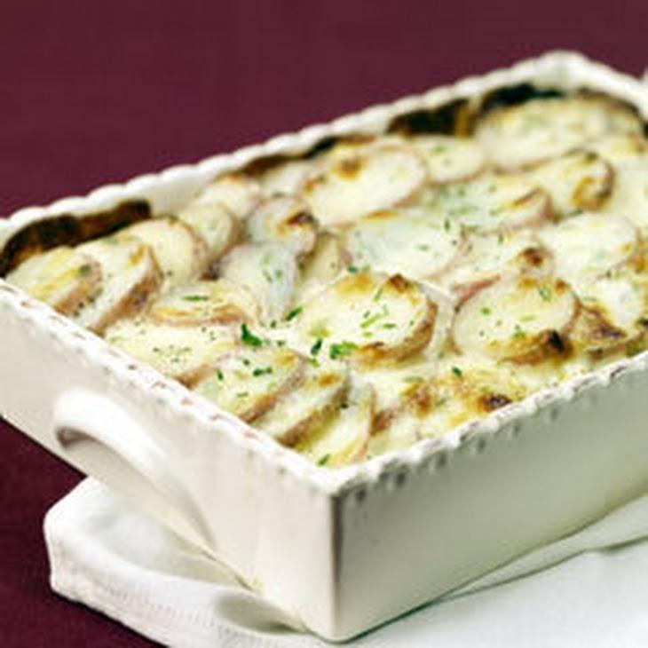 Parmesan Chive Potato Bake