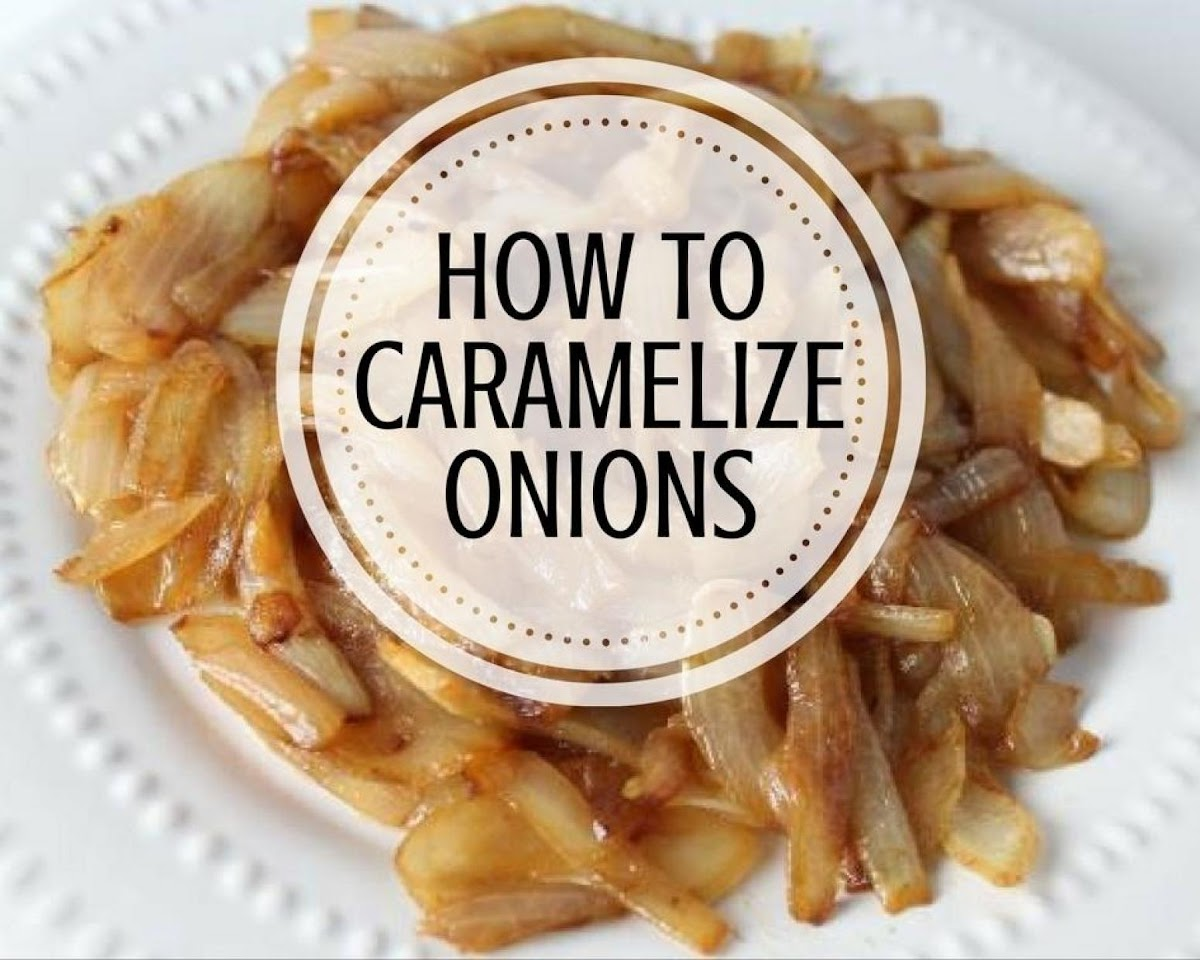 How to Caramelize Onions | Just A Pinch