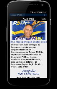 Assis 27190 Deputado Estadual screenshot 0