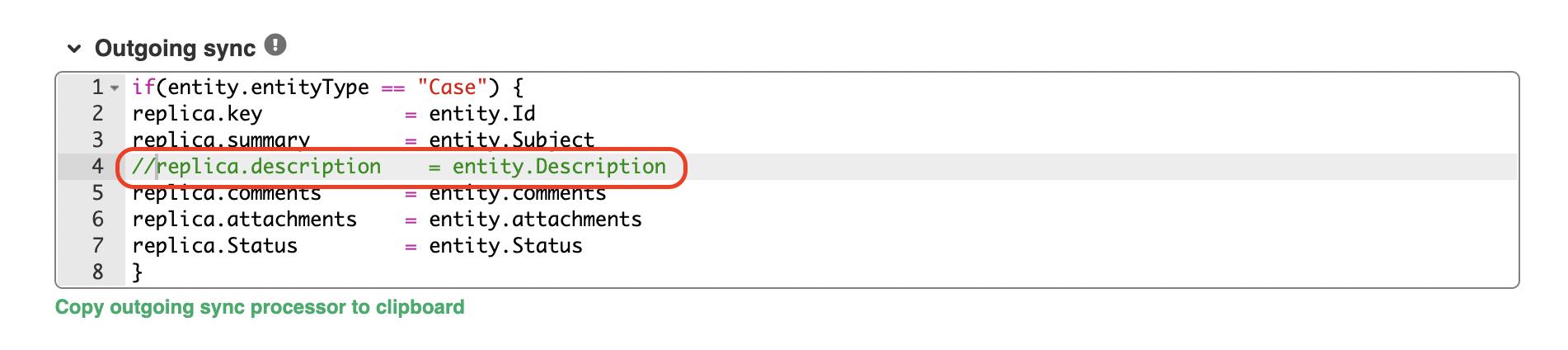 salesforce GitHub integration outgoing sync