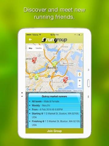 android RunGroup Screenshot 11
