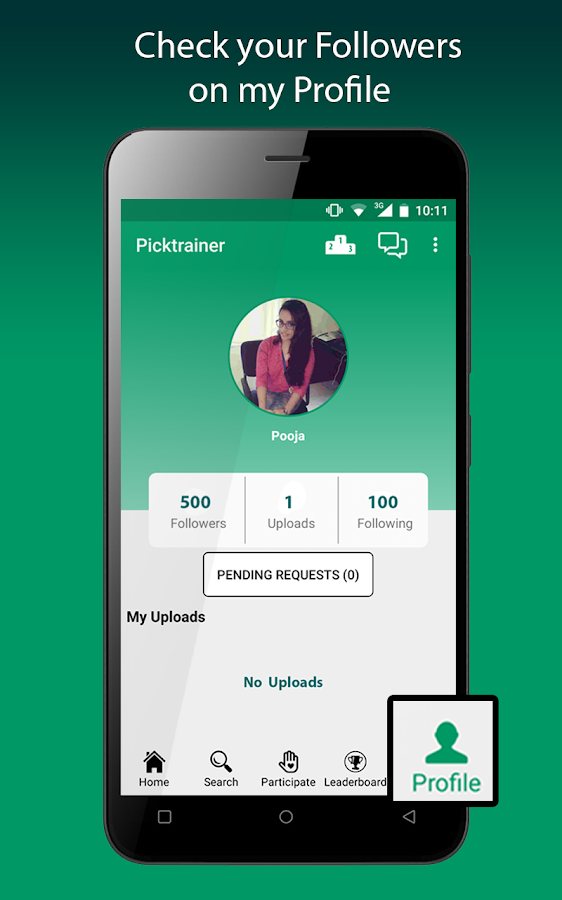 Picktrainer: Photo Contest, Teacher At Doorstep- screenshot