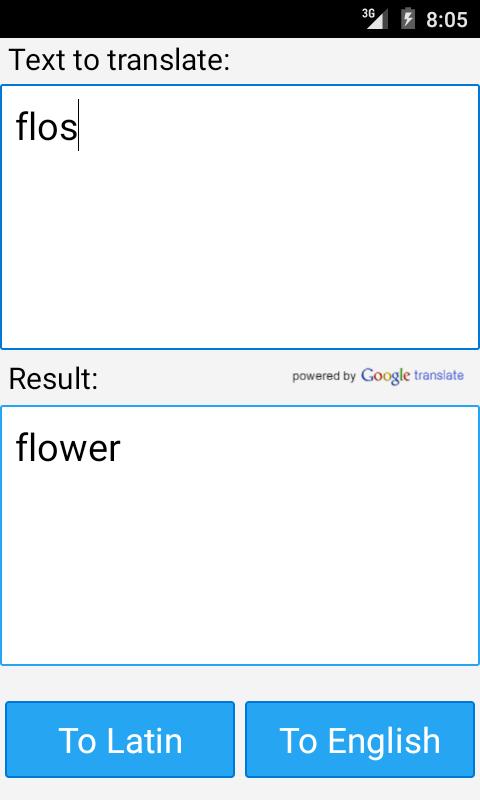 English To Latin Google 16