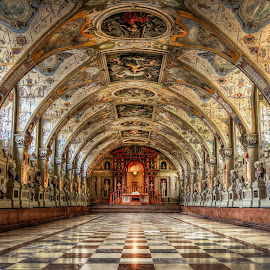 Munich Residenz by Nick Moulds - Buildings & Architecture Public & Historical ( interior, munich, residenz, germany, architecture )