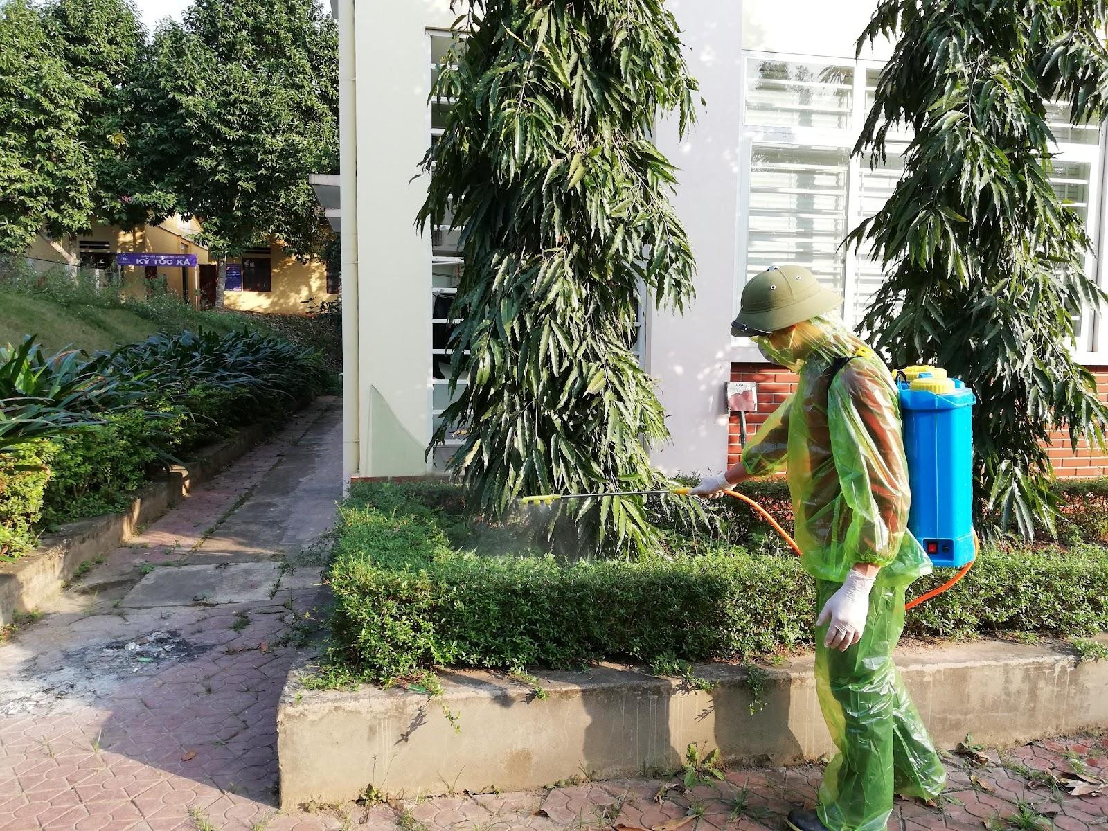Phân hiệu Đại học Thái Nguyên tăng cường phòng, chống dịch viêm đường  hô hấp do vi rút Corona