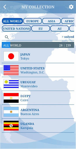 The Flags of the World u2013 Nations Geo Flags Quiz 5.0 screenshots 23