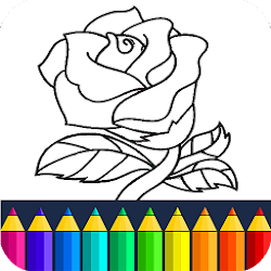 Valentines love coloring book