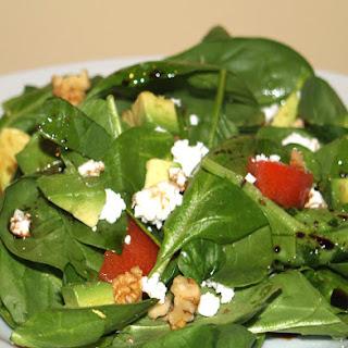 Spinach Avocado Feta Salad Recipes.
