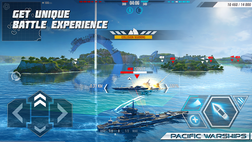 Pacific Warships: World of Naval PvP Warfare apktreat screenshots 1