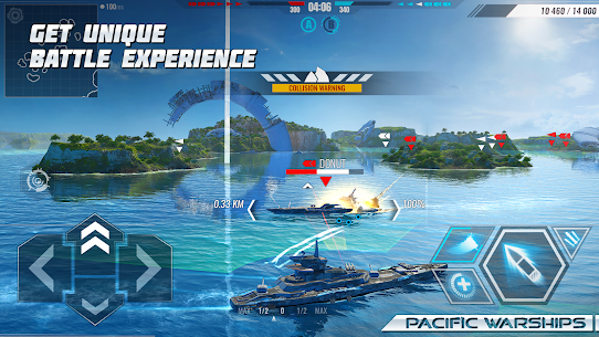 Pacific Warships: World of Naval PvP Wargame 1