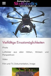 Skyrobotics App – Miniaturansicht des Screenshots