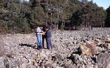 """Photo: """"Ríos de piedra"""" entre Orea y Orihuela del Tremedal (Guadalajara)"""