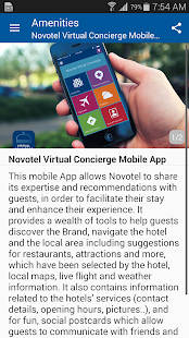 Novotel Virtual Concierge- screenshot thumbnail