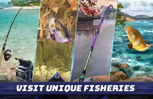 Fishing Clash: Catching Fish Game. Bass Hunting 3D 1.0.105 screenshots 2